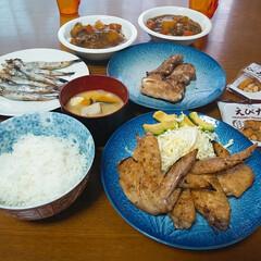 おうちご飯 6月5日の夕食です😊  昨日は子供達の習…