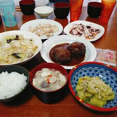 夜食/食後のデザート/おうちご飯/至福のひととき/おやつタイム 6月13日(木) 今日の夕食です🌃🍴  …