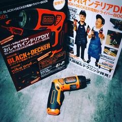 電動ドライバー 充電式 コードレス BLACK+DECKER ブラックアンドデッカー LEDツイストドライバー PLR3602-JP 4536178036122 | ブラック&デッカー(電気ドリル)を使ったクチコミ「やっと充電式の電動ドライバーを購入しまし…」