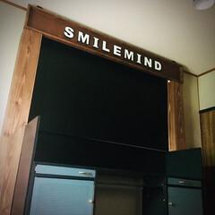 ニッペホームプロダクツ WOOD LOVE VINTAGE WAX ウォルナット 160g B | ニッペホームオンライン(ワックス)を使ったクチコミ「SMILEMIND 取り付け完了🙋♂️…」