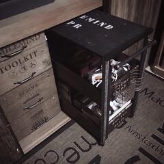整理整頓/押し入れ整理/活用術/押し入れ/収納スペース/押し入れ収納/... 衣装ケースの横にもピッタリなキャスターワ…
