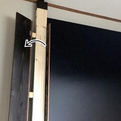 ニッペホームプロダクツ WOOD LOVE VINTAGE WAX ウォルナット 160g B | ニッペホームオンライン(ワックス)を使ったクチコミ「2×4材の外側に板材を被せました😃 柱だ…」(3枚目)