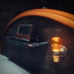 LIMIA/塩ビパイプ/アンティーク/塗装/サビサビ/キャンドゥ/... 久しぶりのベッド周り投稿。 ソケット部分…