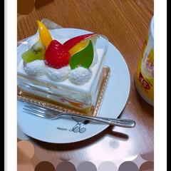 コーヒー派/ケーキ大好き/令和元年フォト投稿キャンペーン/至福のひととき ケーキ。 おいしい。 やっぱりおいしい。…