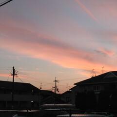 風景 今日の一枚 夕焼け小焼け 日が暮れて