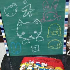 黒板日記 つぶやく黒板。 クスッと。