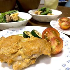 チキン/とり肉/おうちごはん タンドリーチキン、 オーブントースターで…