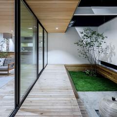 LIXIL/LIXILの窓/リクシル/窓/大きな窓/明るいリビング/... ♪窓の施工事例♪⠀ リビング一面に設けた…