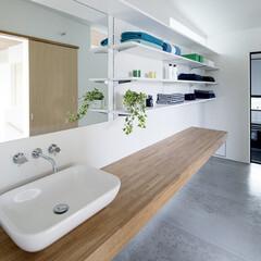 LIXIL/リクシル/洗面ボウル/洗面所リフォーム/洗面器/洗面化粧台/... ♪洗面化粧室の施工事例♪⠀ 洗面化粧室に…