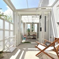 LIXIL/リクシル/エクステリア/ガーデンルーム/暖蘭物語/サンルーム/... ♪ガーデンルームの施工事例♪⠀ ガーデン…