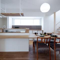 LIXIL/リクシル/リクシルキッチン/キッチン/対面キッチン/対面型キッチン/... ♪キッチン・ダイニングの施工事例♪⠀ キ…(1枚目)