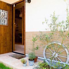 LIXIL/LIXILの玄関/リクシル/リクシルドア/玄関ドア/ジエスタ/... ♪玄関の施工事例♪⠀ 玄関ドアとナチュラ…