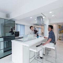 LIXIL/LIXILキッチン/リクシル/リクシルキッチン/キッチン/アレスタ/... ♪キッチンの施工事例♪⠀ 広い空間を確保…