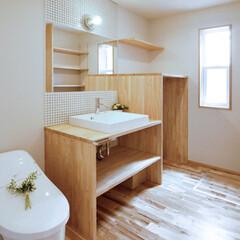 LIXIL/リクシル/INAX/イナックス/トイレ/トイレインテリア/... ♪トイレの施工事例♪⠀ トイレと洗面室に…
