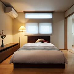 LIXIL/リクシル/寝室/寝室インテリア/寝室の壁/寝室照明/... ♪寝室の施工事例♪⠀ 落ち着いた雰囲気で…
