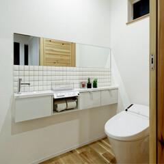 LIXIL/リクシル/INAX/イナックス/トイレ/サティス/... ♪トイレの施工事例♪⠀ 白をベースにコー…