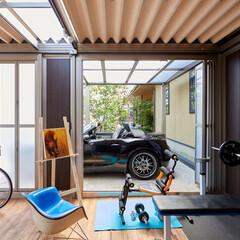 LIXIL/リクシル/ガレージ/住宅設備/施工事例/施工例/... ♪ガレージの施工事例♪⠀ ガレージ側面の…