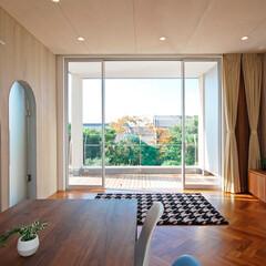LIXIL/LIXILの窓/リクシル/大きな窓/大開口/大開口テラス/... ♪リビングの施工事例♪⠀ 2階のリビング…