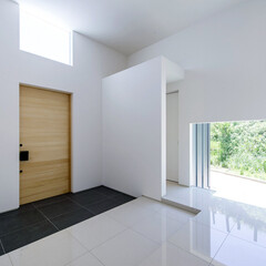 LIXIL/LIXILの窓/リクシル/窓/サッシ/玄関ホール/... ♪玄関ホール・窓の施工事例♪⠀ 大きなサ…