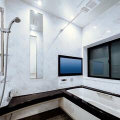 LIXIL/リクシル/肩湯/SPAGE/スパージュ/お風呂リフォーム/... ♪バスルームの施工事例♪⠀ 32インチの…