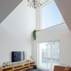 LIXIL/LIXILの窓/リクシル/大きな窓/吹き抜けリビング/吹き抜けのある暮らし/... ♪リビングの施工事例♪⠀ リビングの吹き…