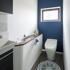 LIXIL/リクシル/トイレリフォーム/トイレリノベーション/トイレ/タンクレストイレ/... ♪トイレの施工事例♪⠀ モダンコーディネ…