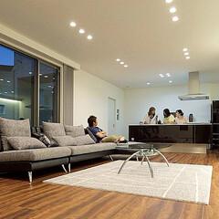 LIXILの窓/リクシル/サッシ/窓/大きな窓/大開口/... ♪リビング・キッチンの施工事例♪⠀ モダ…