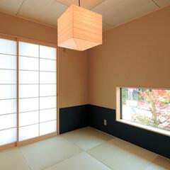 LIXIL/LIXILの窓/リクシル/窓/大きな窓/和室インテリア/... ♪和室の施工事例♪⠀ 低い位置の窓から四…