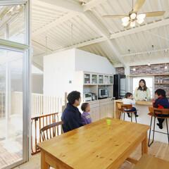LIXIL/リクシル/キッチン/対面キッチン/対面型キッチン/対面式キッチン/... ♪ダイニング・キッチンの施工事例♪⠀ カ…