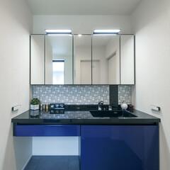 LIXIL/リクシル/洗面/洗面化粧台/洗面所/洗面スペース/... ♪洗面化粧室の施工事例♪⠀ デザイン性の…