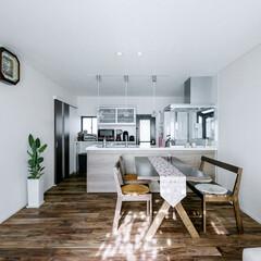 LIXIL/リクシル/リクシルキッチン/キッチン/アレスタ/対面キッチン/... ♪キッチン・ダイニングの施工事例♪⠀ 白…