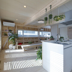 LIXIL/LIXILの窓/リクシル/リクシルキッチン/キッチン/アレスタ/... ♪LDKの施工事例♪ 光や風、緑がここち…