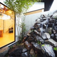LIXIL/LIXILの窓/リクシル/大開口/大きな窓/坪庭/... ♪坪庭の施工事例♪⠀ ダイニング、キッチ…