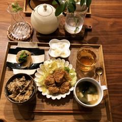 晩御飯/LIMIAごはんクラブ/わたしのごはん/おうちごはんクラブ/グルメ/フード/... 今日の晩御飯は ・鶏むね肉の照り焼き ・…