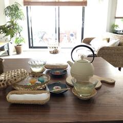 おやつ/インテリア/DIY/雑貨/100均/セリア/... この前の和菓子写真の別アングルです! 子…