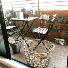 IKEA/ニトリ/ハーブ/ベランダガーデン/夏インテリア/DIY/... 洗濯かごを新調しました!IKEAの新商品…