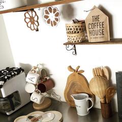 コーヒー/グルメ/フード/スイーツ/キッチン/キッチン雑貨/... わたしのお気に入りの場所、 キッチンの作…