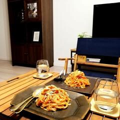 クチポール 単品 ティー スプーン GOA ゴールド×ホワイト GO.11 WGB   クチポール(フォーク)を使ったクチコミ「夫が最近夜食を作ってくれるんですが、体重…」(1枚目)