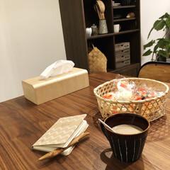 家計簿/コーヒー/おやつ/雑貨だいすき/雑貨/100均/... 家計簿つけながら、コーヒーとおかき。この…