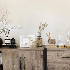洋書/イケア/IKEA/クリスマス/ヴィンテージ/ドライフラワー/... 2年前にニトリで購入したファーのトナカイ…