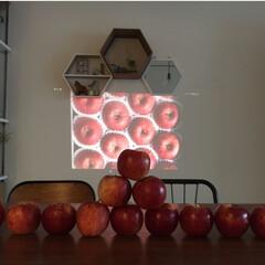 ディスプレイ/りんご/マンション/スイーツ/雑貨/インテリア/... 私のお気に入りの写真です。 これはたくさ…