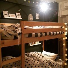 二段ベッド/セリア/ニトリ/キッズルーム/子供部屋/インテリア/... アイデア更新しました! 今回は子供の寝室…