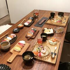 手毬寿司/わたしのごはん/おうちごはんクラブ/グルメ/フード/雑貨/... 子供達の誕生日パーティのときの写真です。…