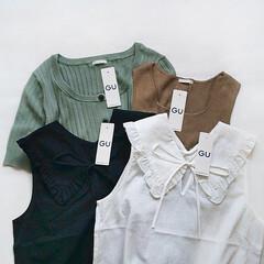 アラフォーファッション/アラサーファッション/ママファッション/ママコーデ/ファッション/プチプラファッション/... GU購入品 最近のGUは可愛いアイテムが…