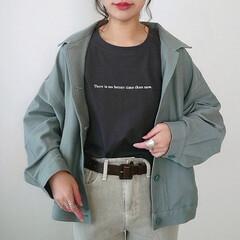 ロゴTシャツ/しまむら購入品/しまパト戦利品/しまパト/しまむらパトロール/しまむらコーデ/... UNIQLOで気になってたジャージーリラ…