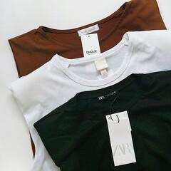ディーホリック/DHOLIC/エイチアンドエム/HM/ザラ/ZARA/... 最近ハマってるショルダーパッドTシャツ。…