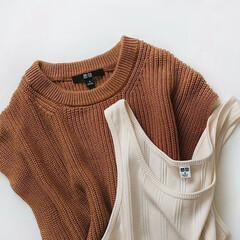 UNIQLO購入品/ユニクロ/UNIQLO/アラフォーファッション/アラサーファッション/ママファッション/... UNIQLO購入品👕 新作のコットンブレ…