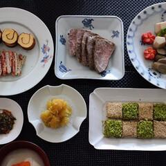 おうち/おうちごはん/おせち/手作り/お正月 お重に入れないで、食べたいものだけ作りお…