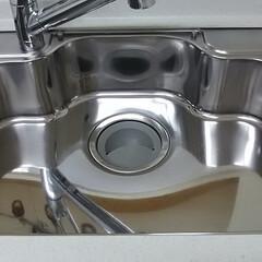 シンク磨き/シンクのおそうじ方法 シンクのおそうじ。お掃除というより、磨き…