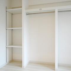 ファミリークローゼット/パイプハンガー/可動棚 洋室一部屋を丸々ファミリークローゼットに…